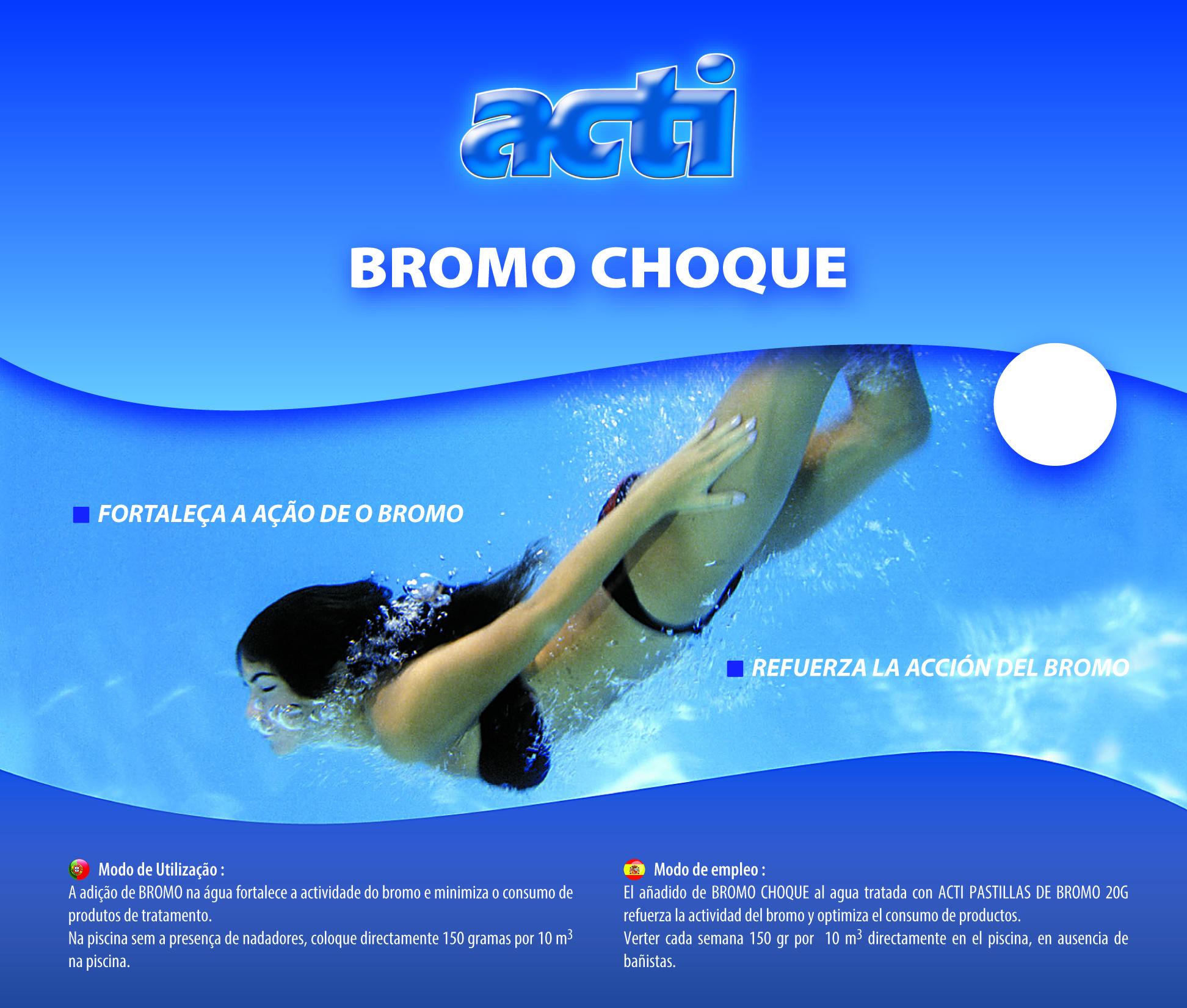 Acti bromo shock pooltorres for Bromo para piscinas
